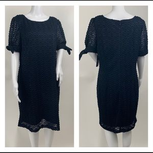 sharagano-tie-sleeve-lace-dress